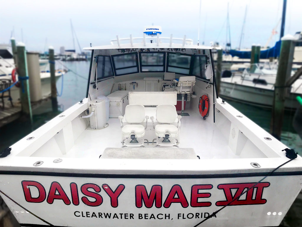 Clearwater beach fishing boats the best beaches in the world for Queen fleet deep sea fishing
